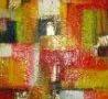 Campo di grano - acrilico su tela- cm 40x50