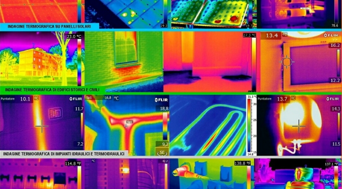 I mille usi della termografia
