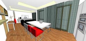 progettazione on line soggiorno appartamento
